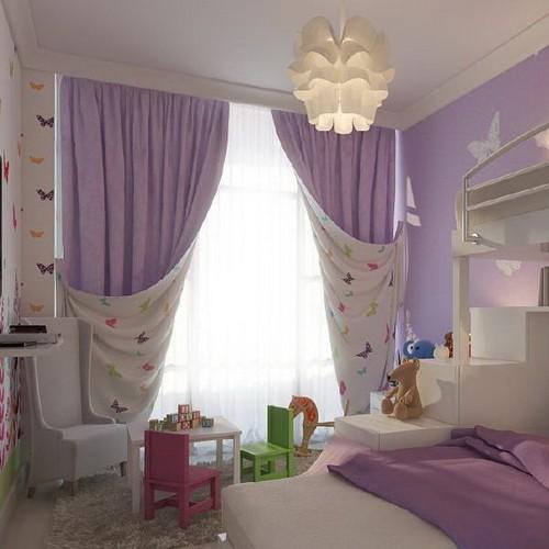 Сиреневые шторы, купить в Самаре