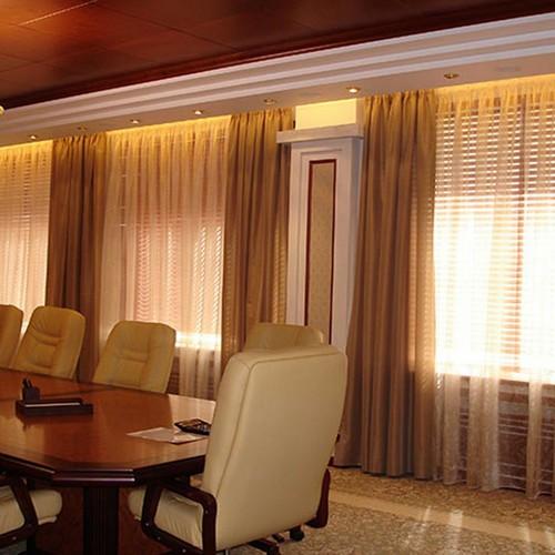 Шторы для переговорной комнаты, индивидуальный пошив в Самаре