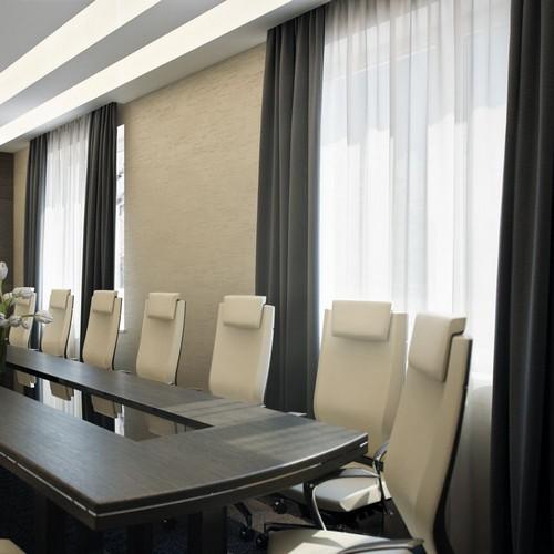 Шторы в зал заседаний, индивидуальный пошив в Самаре