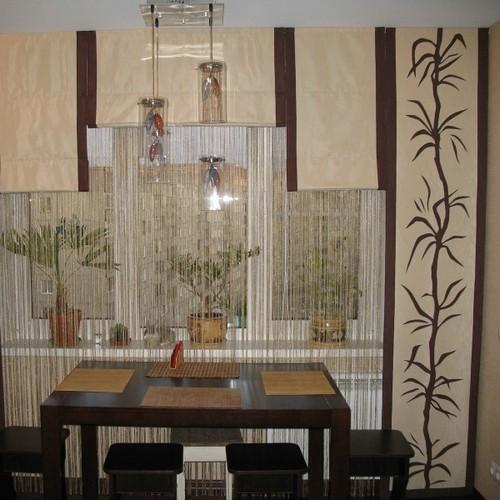 >Японские шторы на кухню в Самаре, фото